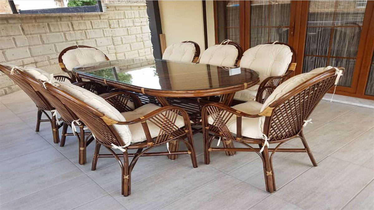 İkinci El Bambu Bahçe Mobilyası Alanlar